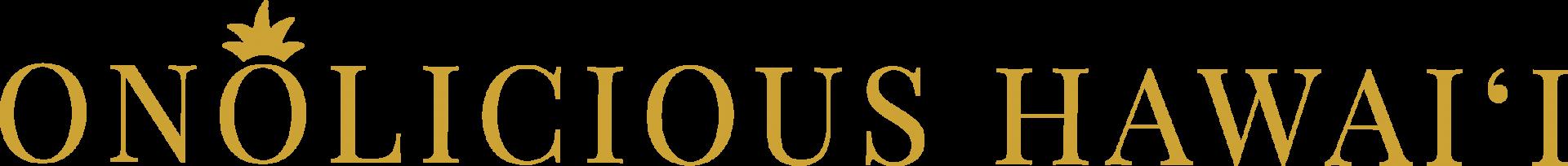 Onolicious Hawaiʻi logo
