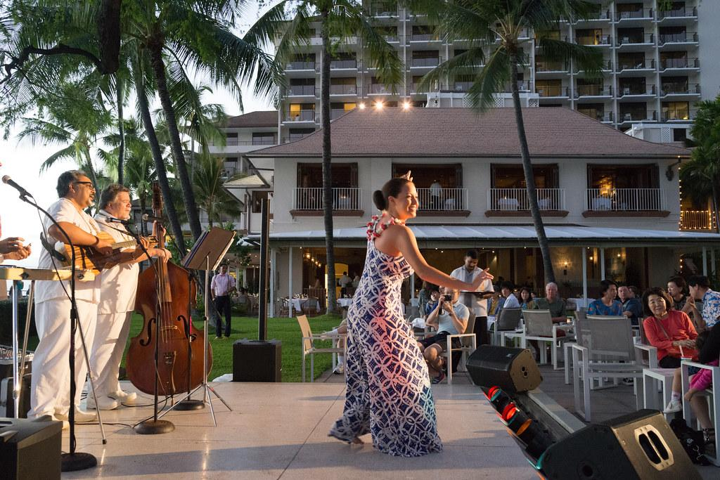 Hula and live music at House Without a Key.