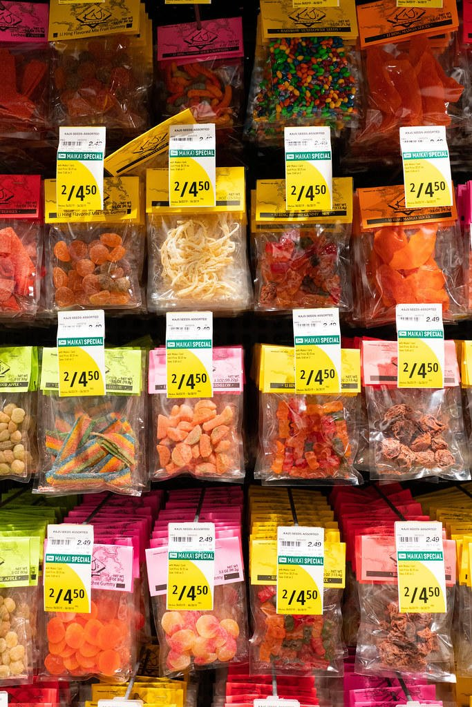 li hing gummy bears