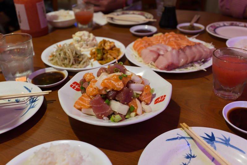 Poke at Kyung's Seafood (Oahu).