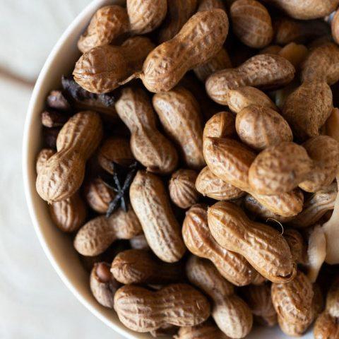 Hawaiian Boiled Peanuts
