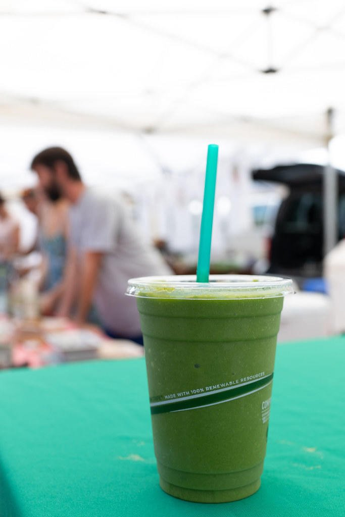 Green smoothie from Ōmao Man