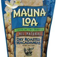 Mauna Loa Macadamia Nuts, Dry Roasted with Sea Salt, 10-oz.