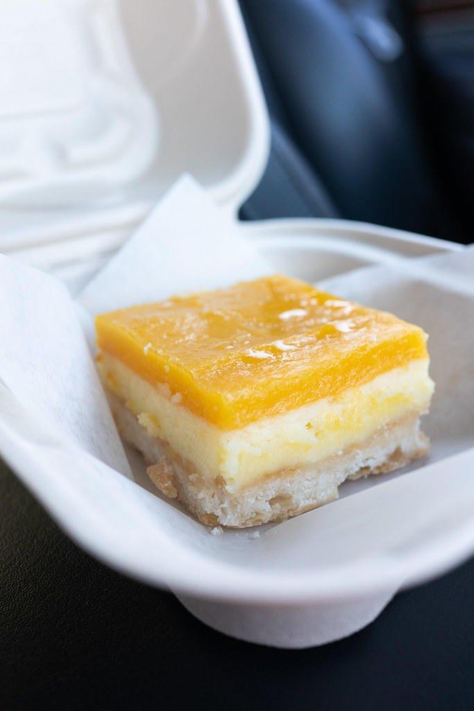 Lilikoi (Passion Fruit) Cream Cheese Square