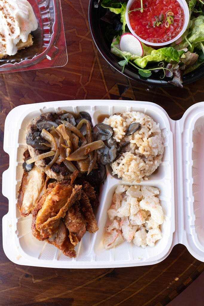 Feast Deluxe plate lunch