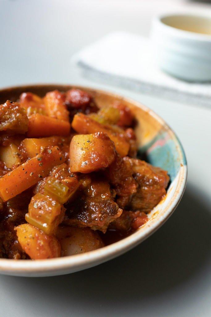 Hawaiian Beef Stew