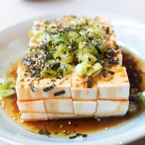 Hot Sesame Oil Tofu
