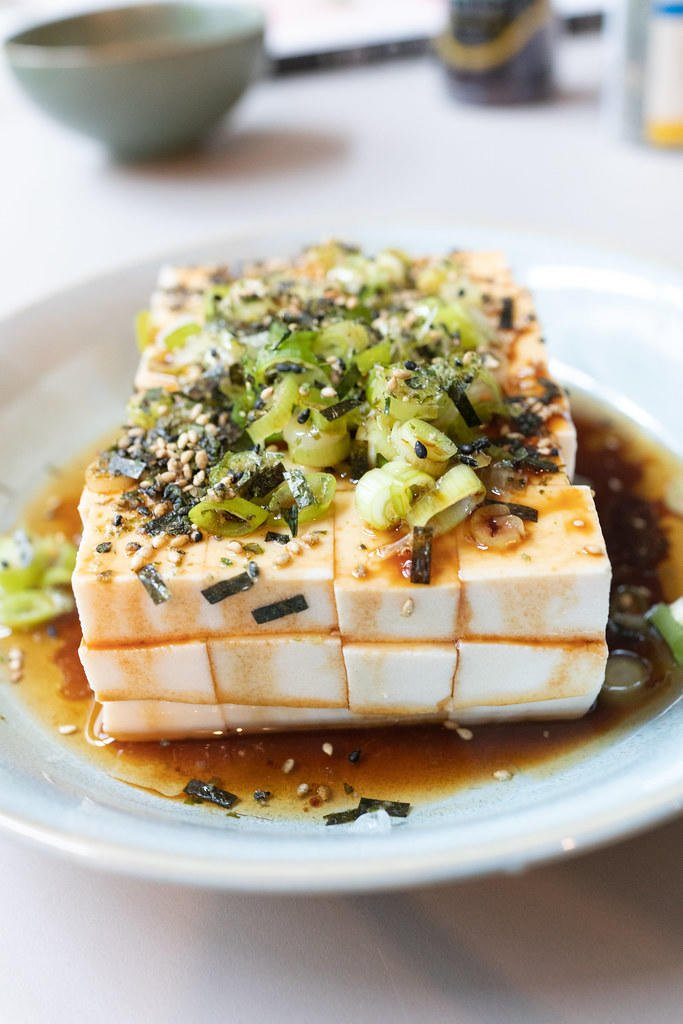 Hot Sesame Oil Tofu