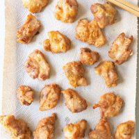 Tray of Mochiko Chicken