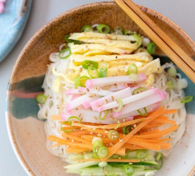 Bowl of Somen Salad