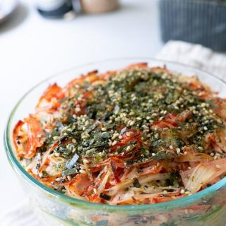 bowl of sushi bake