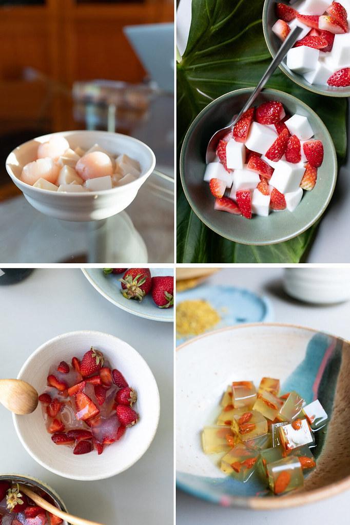 Agar agar desserts we love to make at home