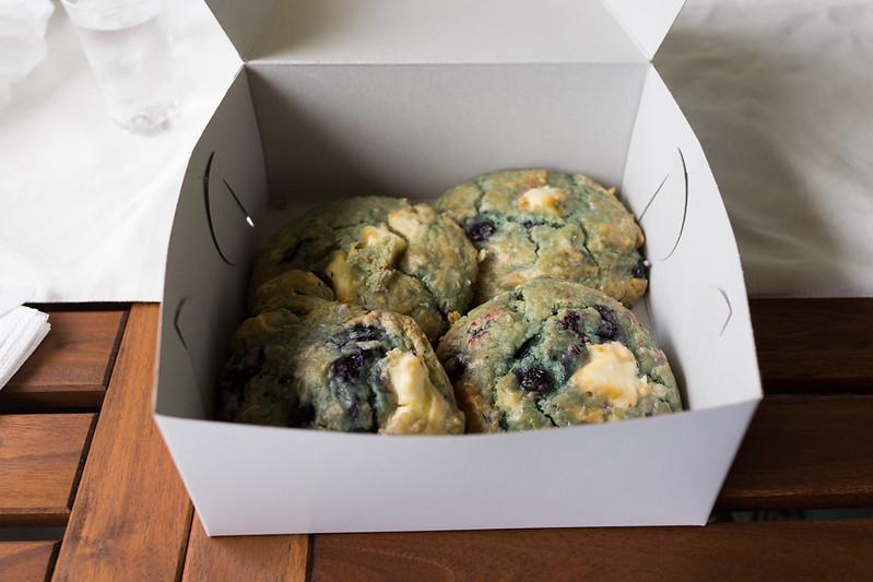 Diamond Head Market & Grill - Blueberry cream cheese scones