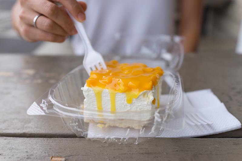 Diamond Head Diamond Head Market & Grill - Mango cream cheese square