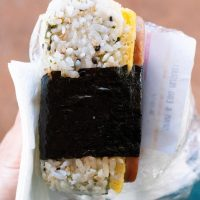 Spam Musubi from Diamond Head Market & Grill.