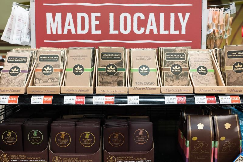 Manoa Chocolate at Whole Foods Hawaii