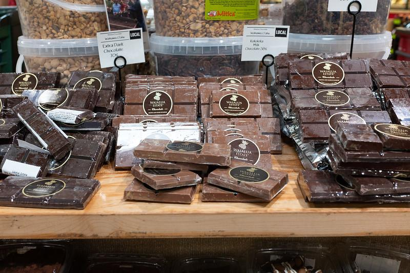 Waialua Chocolate - big blocks at Whole Foods Hawaii