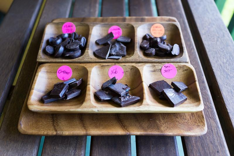 Chocolate made from Hawaii-grown cacao