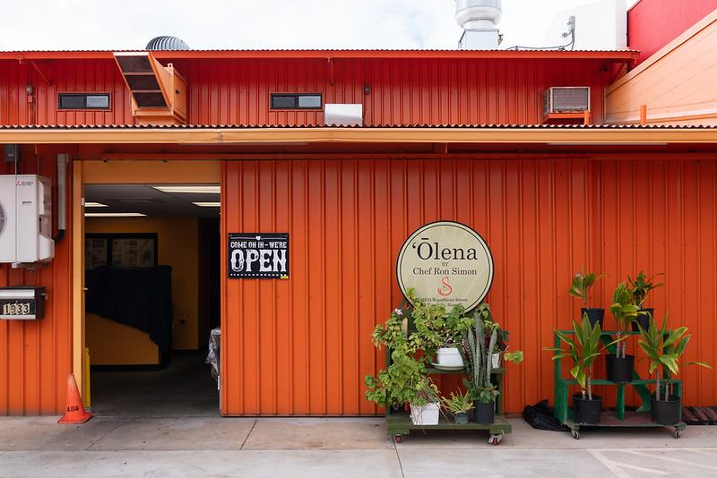 Entrance to Olena's