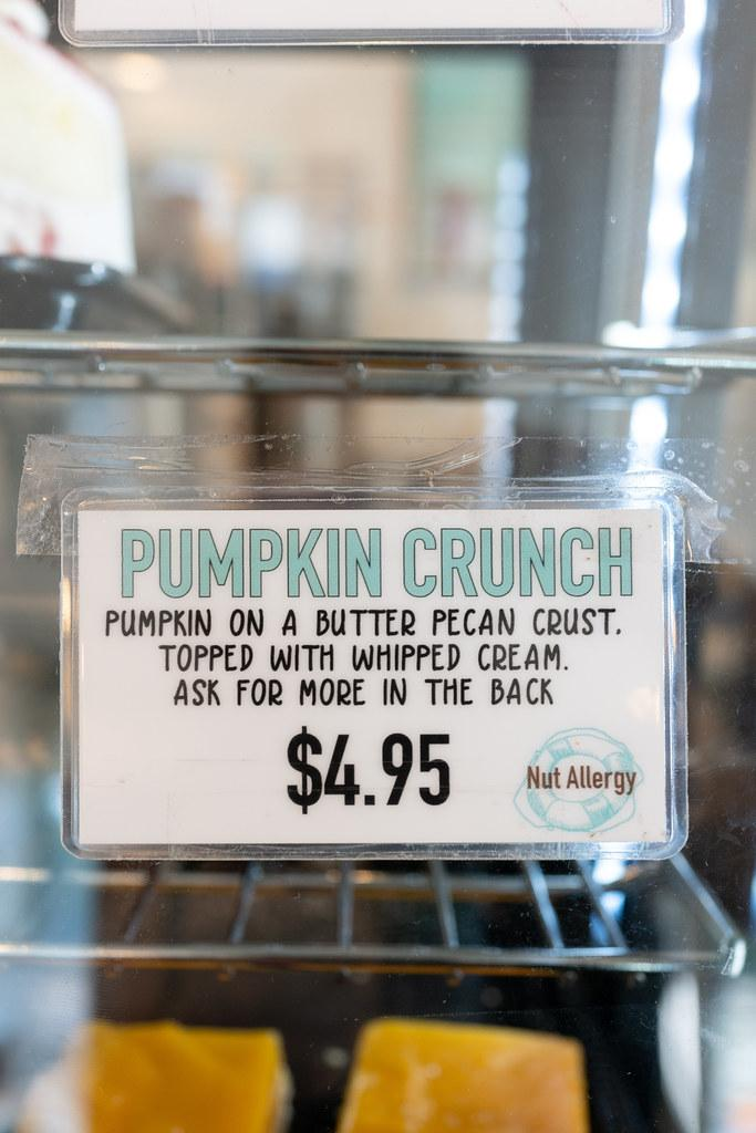 Pumpkin Crunch from Pipeline Bakeshop & Creamery (Oahu)