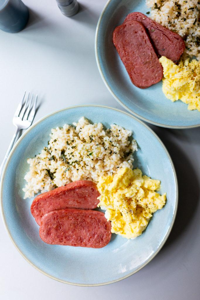Spam, Eggs, and Rice