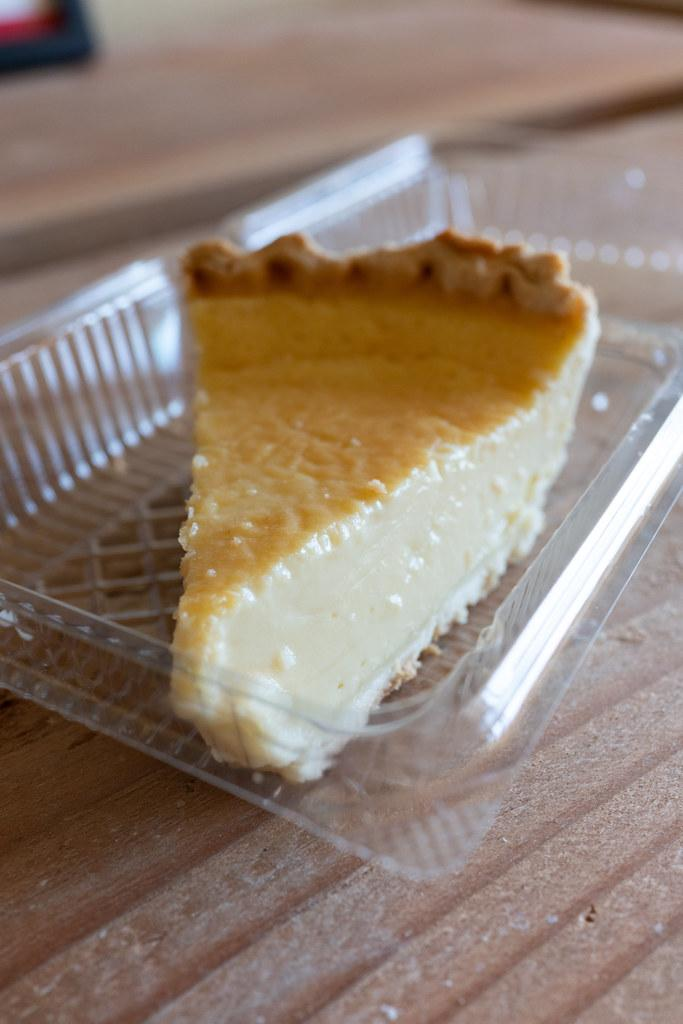 Custard Pie from Epi-Ya Boulangerie & Patisserie (Oahu)