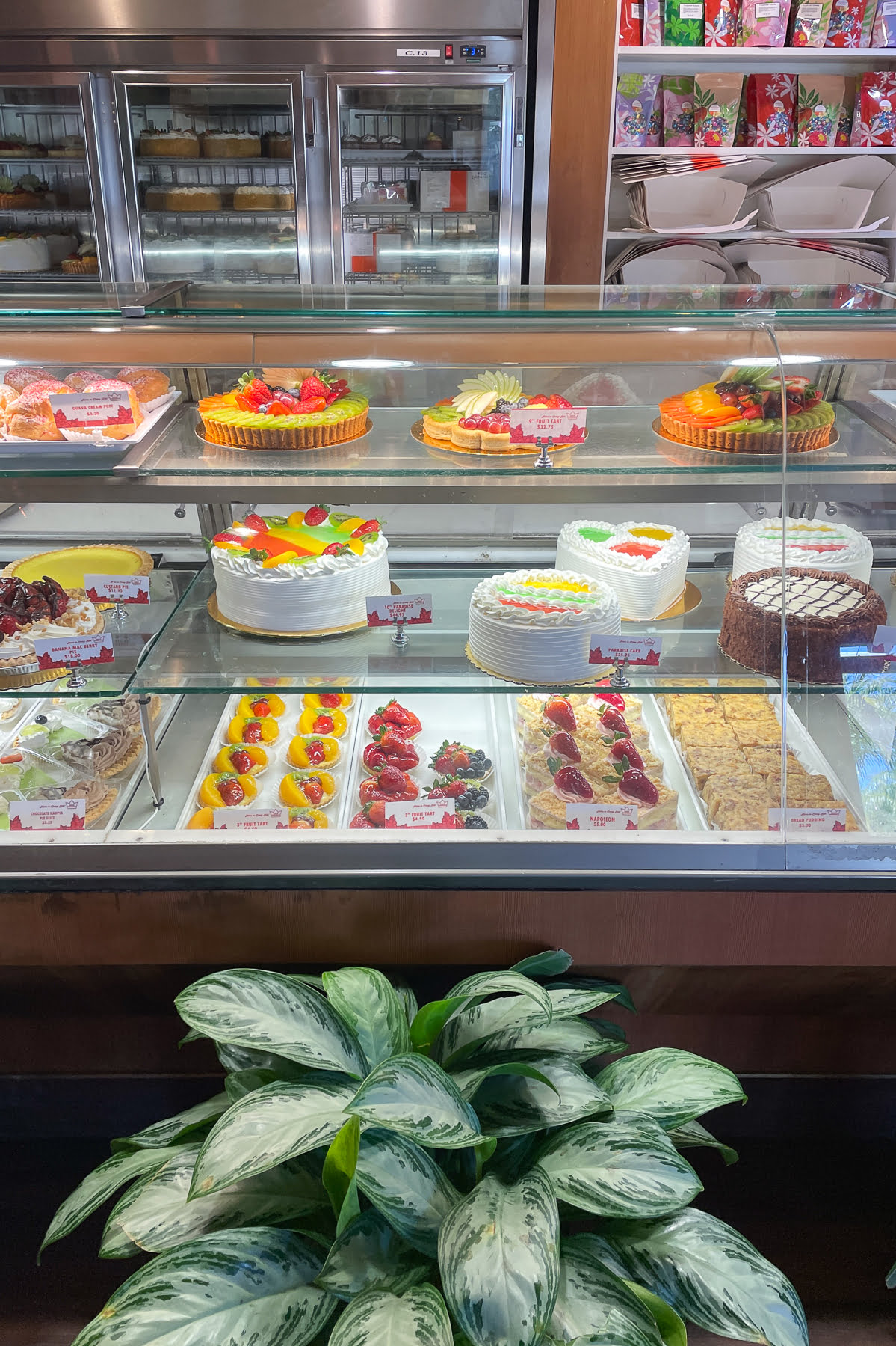 Bakery Counter at King's Hawaiian Bakery and Restaurant