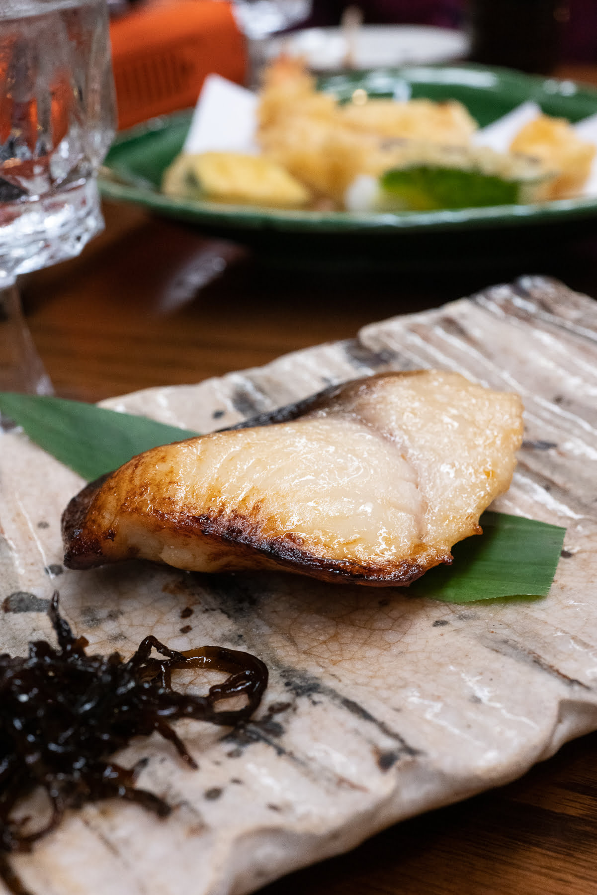 Misoyaki Butterfish from Restaurant Suntory.