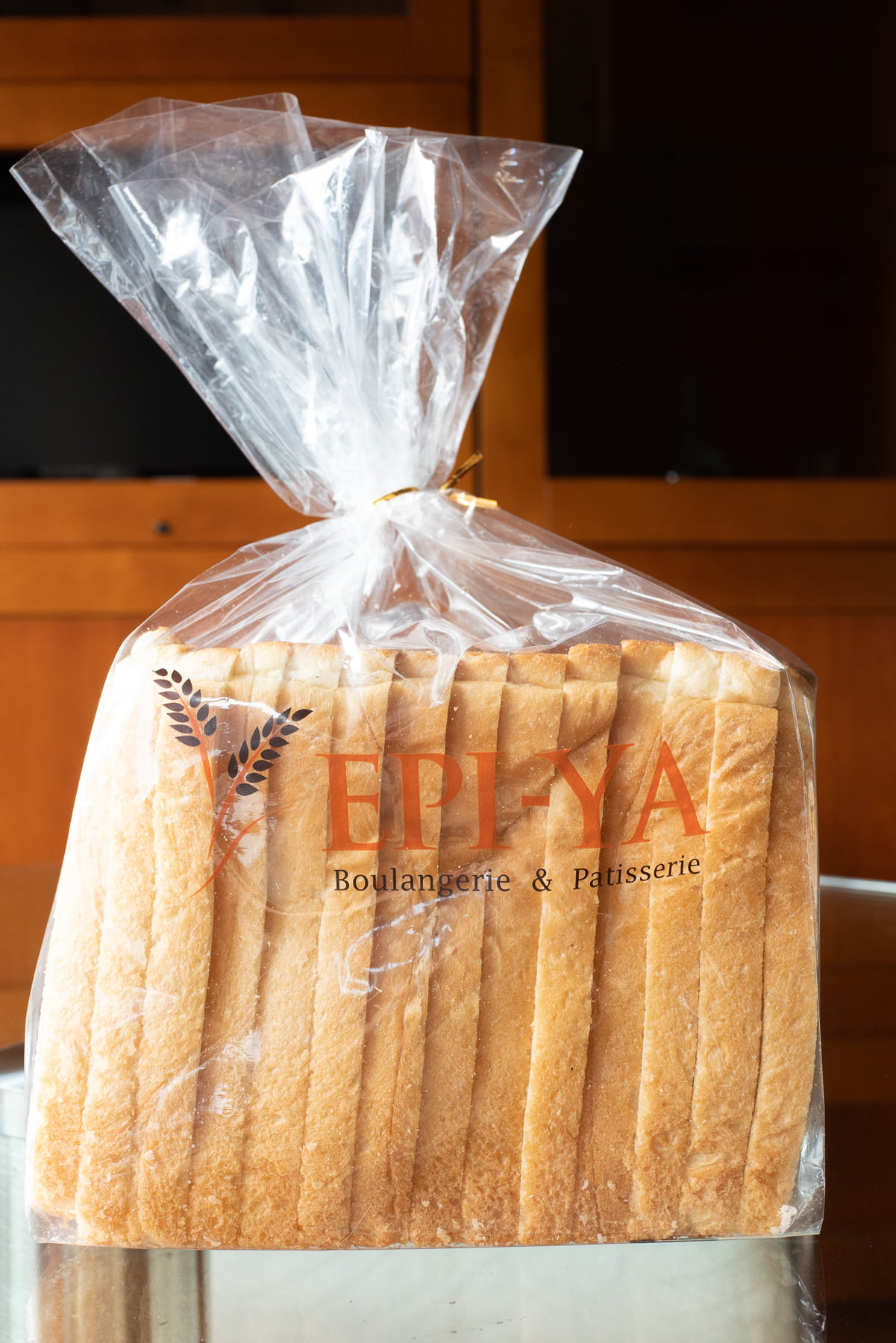 """A loaf of white """"family bread"""" from Epi-Ya."""