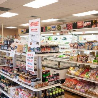 Inside J-Shop, a small Japanese market in Honolulu.
