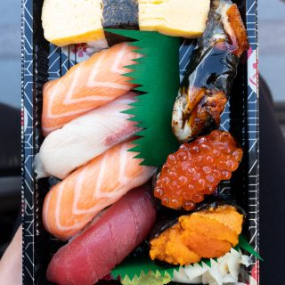 Sushi set from Fish and RIce.