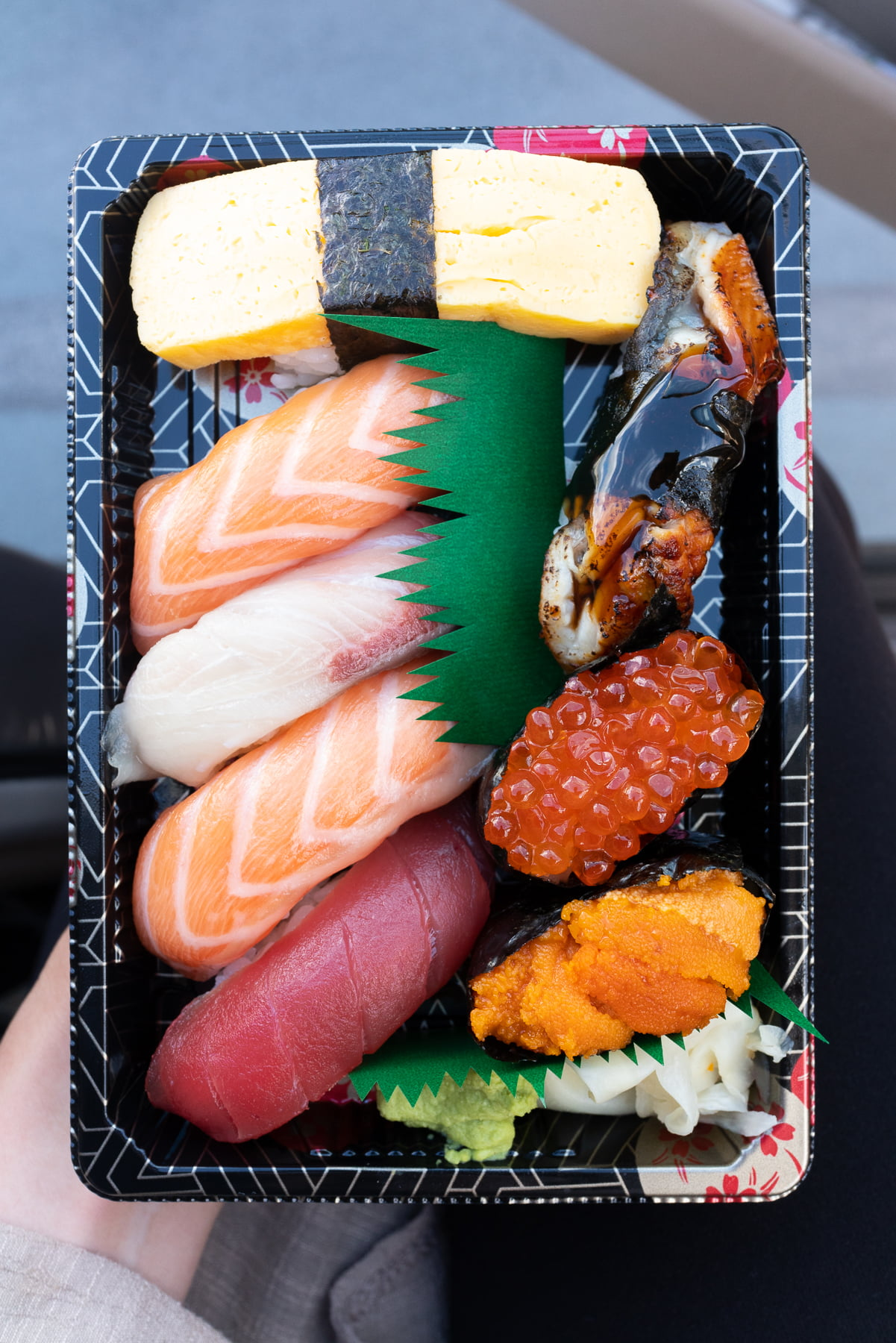 Sushi set from Fish & Rice.